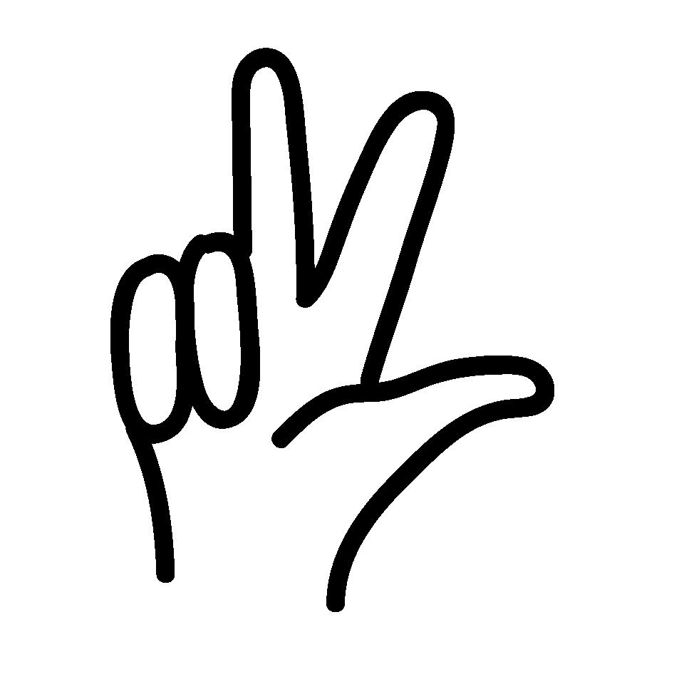 Icon von einer Hand