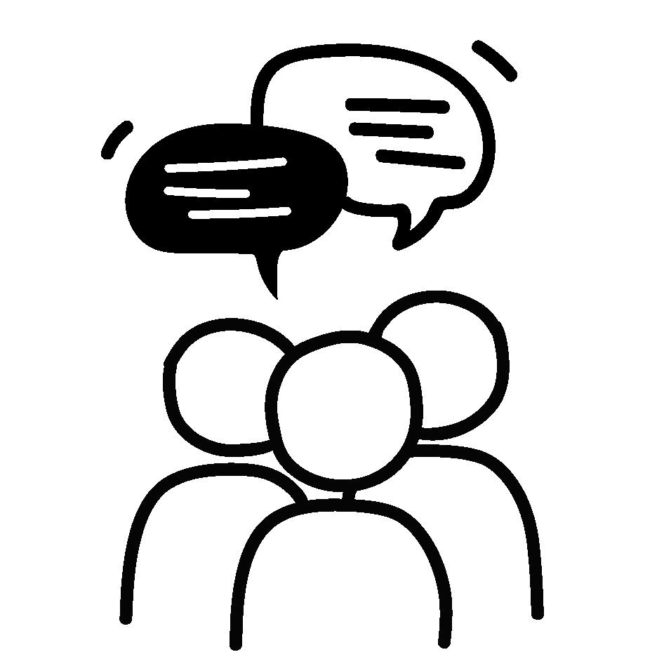 Icon Gruppengespräch